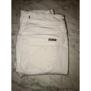White Demin Pants - Dear John